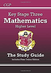 KS3 Maths Study Guide (with online edition) - Higher: Levels 5-8 (Revision Guides)