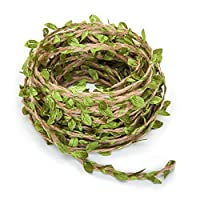 Beito 66Ft Artificial Vine Fake Foliage Leaf Plant Garland Rustic Jungle Vines Wedding Home Décor
