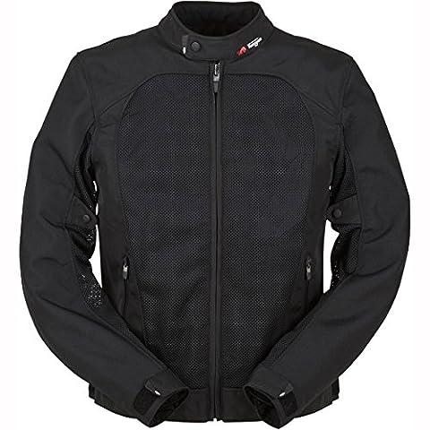 6233-1 L - Furygan Genesis Mistral Textile Motorcycle Jacket L Black
