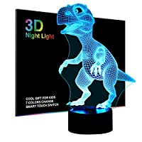Ticent & Co Night Light Lamp for Kids Boys Girls Gift