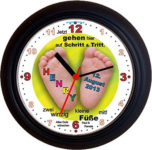 lucky-clocks-babyfusse-originelle-wanduhr-zur-geburt-fur-jeden-anlass-mit-jeder-beschriftung-und-jed