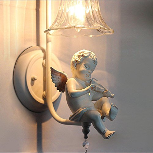 Modern Animation de rayons lampe murale créative simple paroi intérieure design argenté Couleur élégante Verre Écran Lampe murale Lampe Résine Douille de chambre Lumières Blanc Ø16 cm
