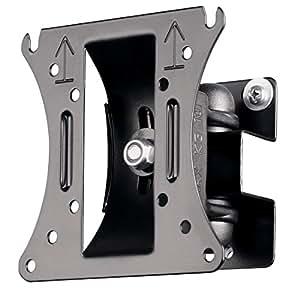 Hama TV-Wandhalterung Motion, neigbar, schwenkbar (vollbeweglich), für 25 - 66 cm Diagonale (10 - 26 Zoll), max. 10 kg, VESA bis 100 x 100, schwarz
