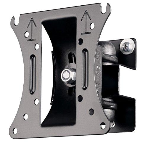 Hama TV-Wandhalterung TILT, neigbar, schwenkbar, vollbeweglich, für 25 - 66 cm Diagonale, 10 - 26 Zoll, max. 10 kg, VESA bis 100 x 100, schwarz (Wandhalterung Für 19-tv)