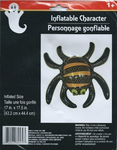 Halloween Inflatable Spider Character by Greenbrier