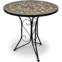 Beautiful Table De Jardin Ronde Mosaique Ideas - House Design ...