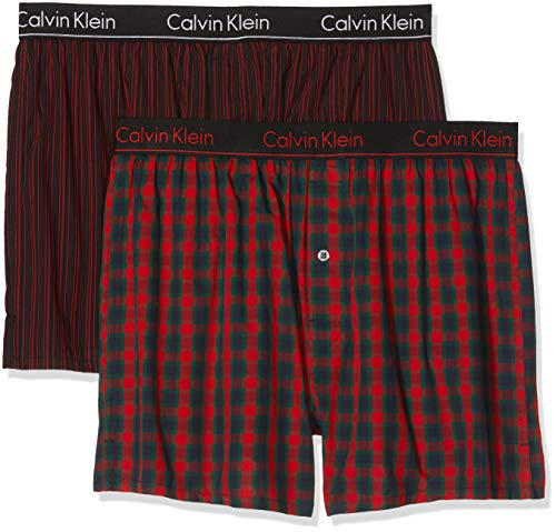 2aa764571db Calvin Klein Boxer de Bain (Lot de 2) Homme