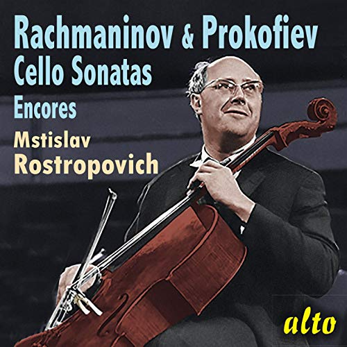 Rachmaninov & Prokofiev Cello Sonatas