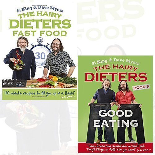 the hairy dieters hairy bikers collection 2 books bundle - fast food, good eating