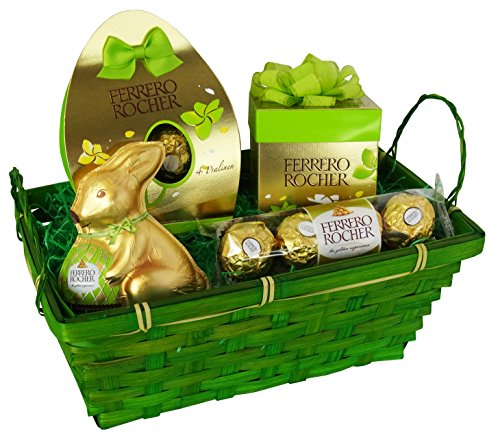 Easter Hamper with Ferrero Rocher and Rocher Bunny (4 parts)