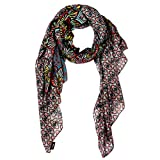 #5: Stripes Presents Friendship Day Special Diwali Special Multi Colour Scarf.