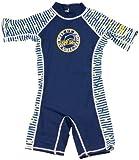 Surfit DSN1 - Ropa de natación con protección solar para niño, color azul marino/blanco