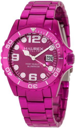 Haurex Italy Women's 7K374DP3 Ink Purple Aluminum Watch