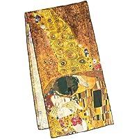 """VON LILIENFELD Scialle di seta Gustav Klimt: """"Il bacio"""""""
