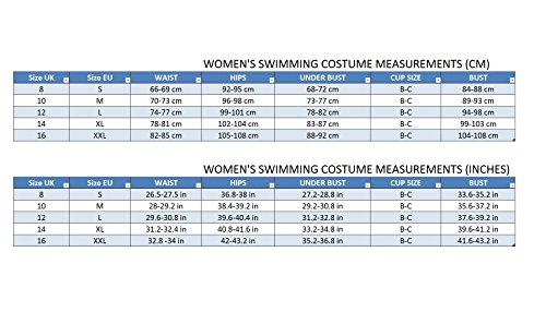 Donna Sport Costume due Pezzi Costumi da Bagno Bikini Set L09S Stile V15