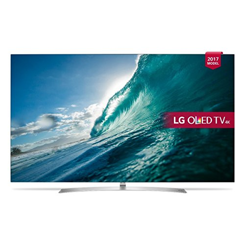 LG OLED55B7V 55 inch Premium 4K Ultra HD HDR Smart OLED TV (2017 Model) (Certified Refurbished)