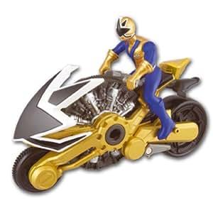 Power rangers 31554 figurine moto samourai dor - Power rangers dore ...