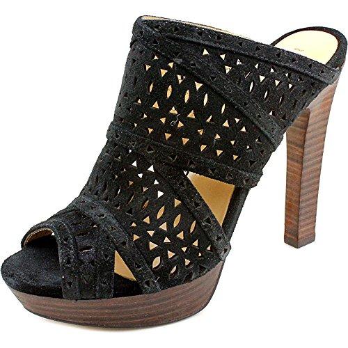 bcbg-max-azria-galinaa-femmes-us-7-noir-sandales-compenses