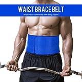 Lixada Bauchgürtel Unterstützung Verstellbare Rückenstütze Rückenbandage