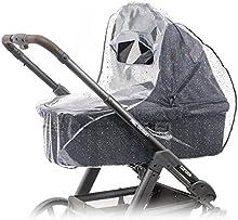 Universal comodidad Protector de lluvia para/Baby 3078193010(por ejemplo HAUCK, hartan, ABC de diseño, etc.) | Buena de circulación del aire, ventana con tejado, sin sustancias nocivas