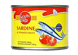 Golden Prize Canned Sardine in Tomato Sauce, 200g
