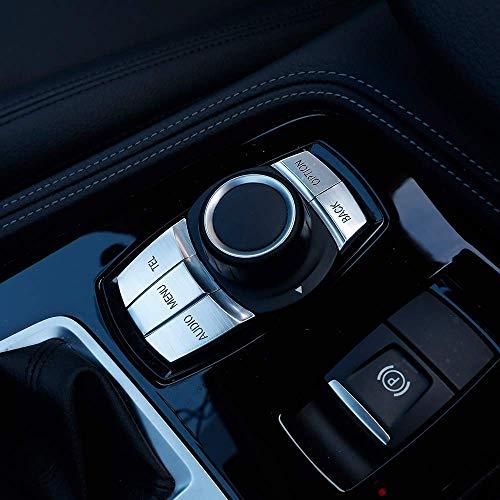Boutons multim/édia de voiture Garniture de couverture d/écorative pour BMW X1 X3 X5 X6 F30 E90 F10 F18 F25 E60 Style2