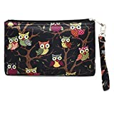 #8: Scoopstreet Women's Cosmetic Bag(Multi-Coloured,22052A Black-Multi)