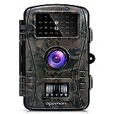 APEMAN Wildkamera Full HD Jagdkamera 20m Nachtsicht 2.4
