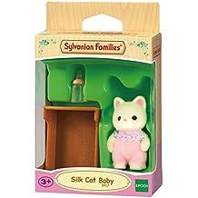 Sylvanian Families - Bebé gato vestido de seda (3535)