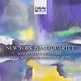 Joseph Marx: Rhapsodie/Erich Wolfgang Korngold: Suite by New York Piano Quartet (2013-09-24)