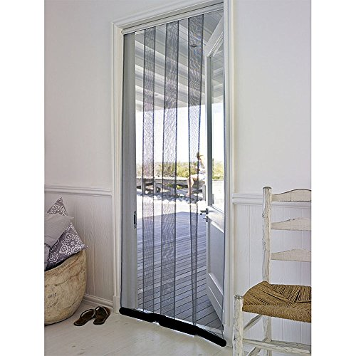 Flyzzz Polyester Strip Door Curtain Net Mesh For Garage And Bedroom, Bug  Fly Strip Blind