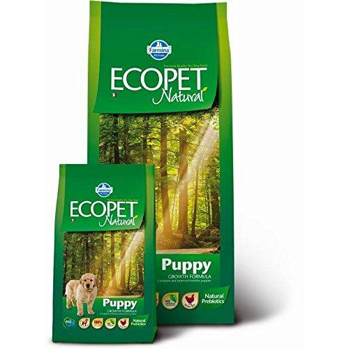 ECOPET NATURAL Welpe mit Hundetrocken kg Huhn. 12 Hund Futter trocken