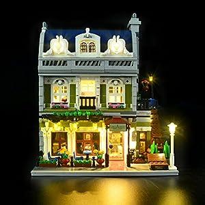 LIGHTAILING Set di Luci per (Creator Expert Ristorante Parigino) Modello da Costruire - Kit Luce LED Compatibile con…  LEGO
