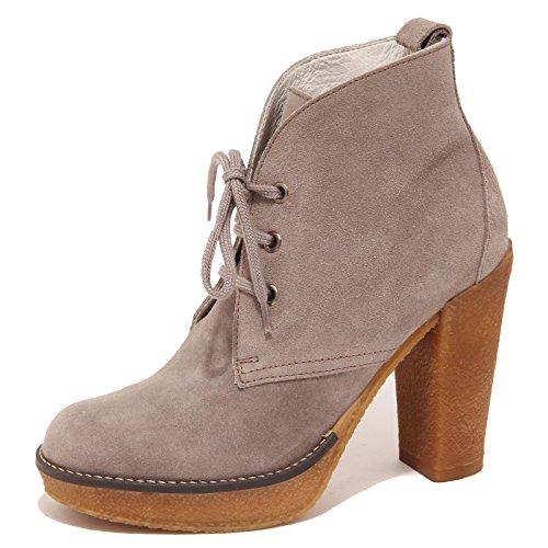 5328P polacchino donna SERAFINI ETOILE tortora scarpa shoe boot woman [36]