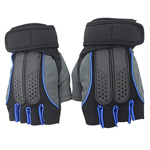 Handschuhe mit Belüftungsgewichten, integrierter Handballenschutz und zusätzlicher Griff.Ideal für Klimmzüge, Cross-Training, Fitness, Gewichtheben.Geeignet für Männer und Frauen Gärtnern, Bauherren,