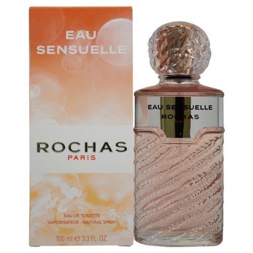 Rochas Sensuelle Eau de Toilette For Women 100ml by Rochas (English Manual)