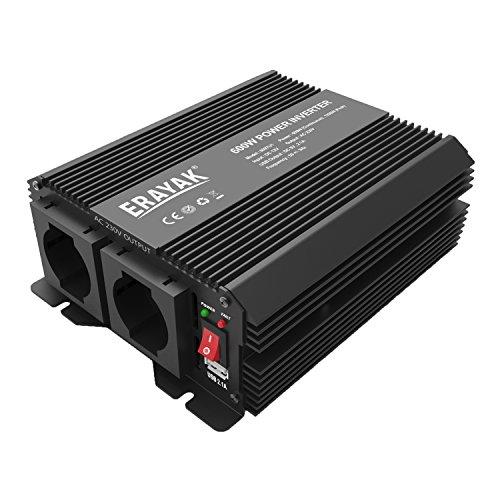 ERAYAK 600W DC12V a AC230V Inverter di Potenza per...