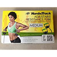 NordicTrack Adjustable resistance tube Medium , sculpt long and lean muscles by NordicTrack