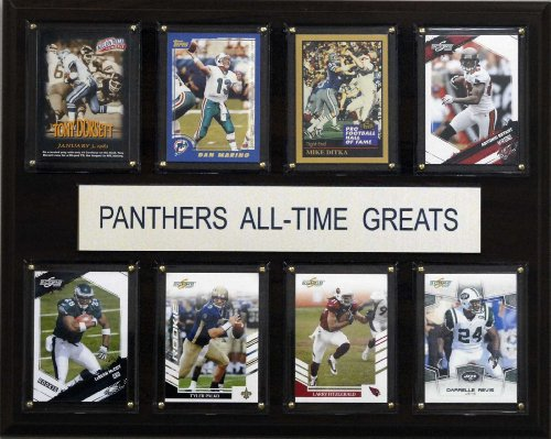 C & I Collectables NCAA Football Pittsburgh Panthers All-Time Greats Plaque