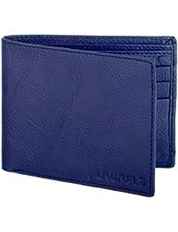Laurels Blue Men's Wallet(Lw-Urb-II-03)