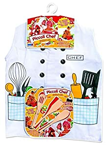 Rstoys Ronchi Supe- Delantal de Cocina para pequeños Chefs,, 3.ST9794