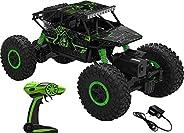 ARHA IINTERNATIONAL 1:18 Rechargeable 4Wd 2.4GHz Rock Crawler Off Road R/C Car Monster Truck Kids Toys | Remot