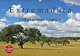 Extremadura - Unbekanntes Spanien (Wandkalender 2018 DIN A2 quer): Die Extremadura, das Herkunftsland der spanischen Konquistadoren, verzaubert Sie ... Orte) [Kalender] [Apr 01, 2017] LianeM, k.A - k.A. LianeM