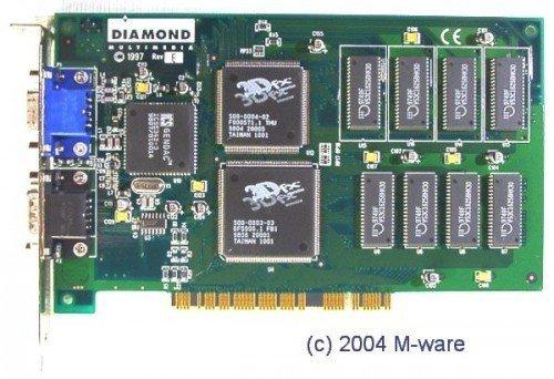 Diamond Monster 3D - 3Dfx Voodoo PCI ID3710