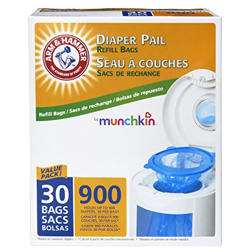 Munchkin-Arm-and-Hammer-Diaper-Pail-Refill-Bags-30-Count