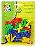 Simba 104591456 - Art und Fun, Magnet-Groß-Buchstaben, 31-tlg -