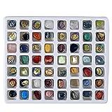 Lot découverte de 56 pierres semi-précieuses