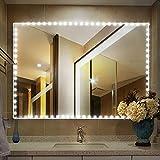 LED Stripes, Streifen Lichter LED Lichtleiste Spiegelleuchte 4M 240 LED, Dimmbar Spiegellampe Schminklicht Licht Spiegel Beleuchtung für Schminkspiegel Schminktisch Leuchte Licht - Kaltweiß