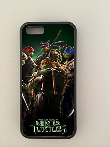 TMNT, T.M.N.T, Teenage Mutant Ninja Turtles, Apple iPhone 5 Turtles & 5s Phonecase Gummi (Gruppe Ninja Kostüme)
