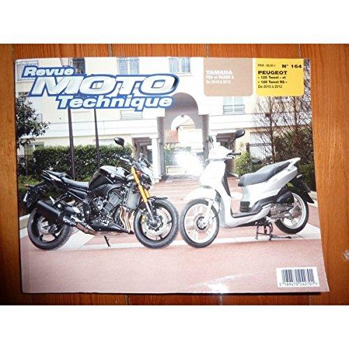 Ré-édition - Fazer 8 125 Tweet Revue Technique moto Peugeot Yamaha Etat - Bon Etat